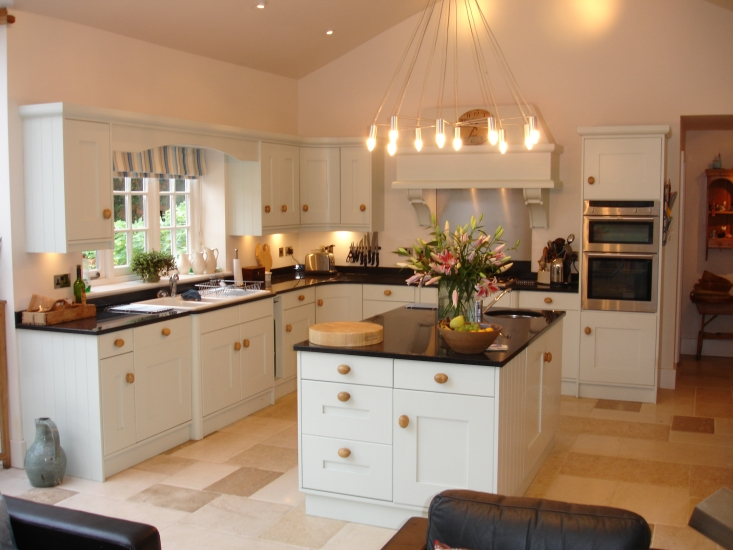 Gallery for Beautiful painted kitchen cabinets